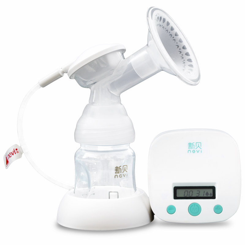 Ncvi New Large Suction Single Electric Breast Pump Baby Feeding BPA Free Breast Milk Pump USB Power Gift Wrapping XB-8712