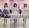 Super Cute Western Painting Theme Fairytale JSK Lolita Dress Suspender Fancy Dolly Dress Nice Lace Trim 3 Colors