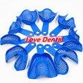 2 Sets Denture Tray Dentistry Holder Bracket Disposable Plastic Dental Tray