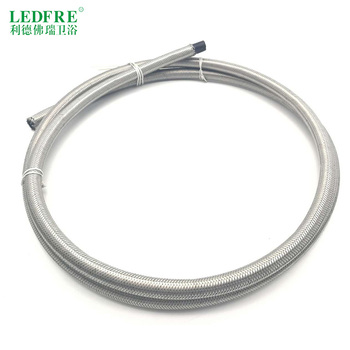 FP159120  1M  10M  12/8.4 304 Stainless Steel braid Hose with EPDM  inner tube flexible water connecting hose lf15313 g1 2 m1 2 304 stainless steel braided faucet water supply flexible hose connector water plumbing hose tube transparent