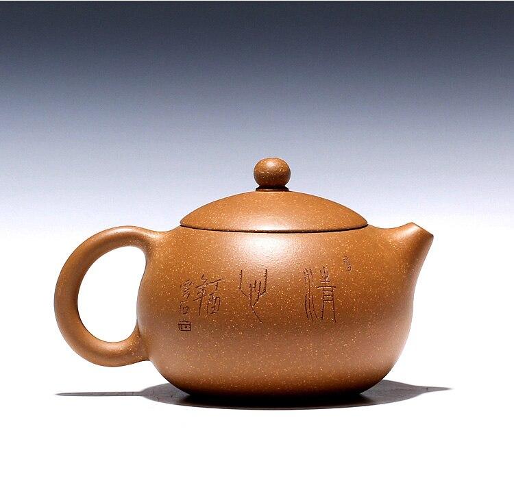 Исин ли сяолу чайник ручной работы, фиолетовый песок горшок, золото, старый дуан, глиняный Лотос, красота горшок