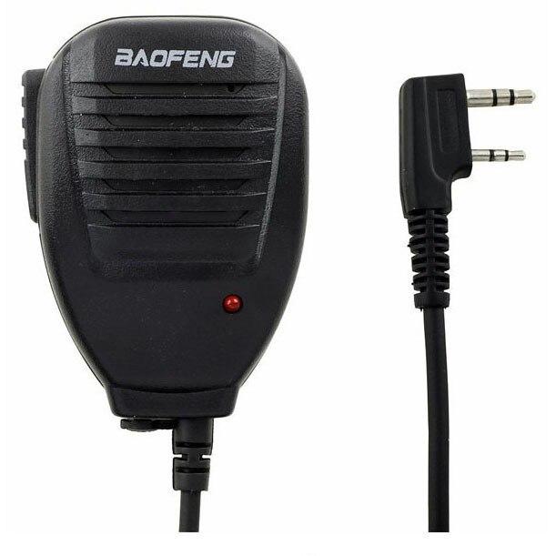 bilder für Original Walkie Talkie BaoFeng Handheld Lautsprecher Mic Mikrofon Für Zweiwegradio UV-5R BF-UVB2 UV-8HX TYT Quansheng Wouxun