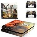Horizon Нулевым PS4 Наклейку Кожи Наклейка Виниловая Наклейка Для Sony PS4 Playstation 4 Консоль И 2 Контроллер Наклейки