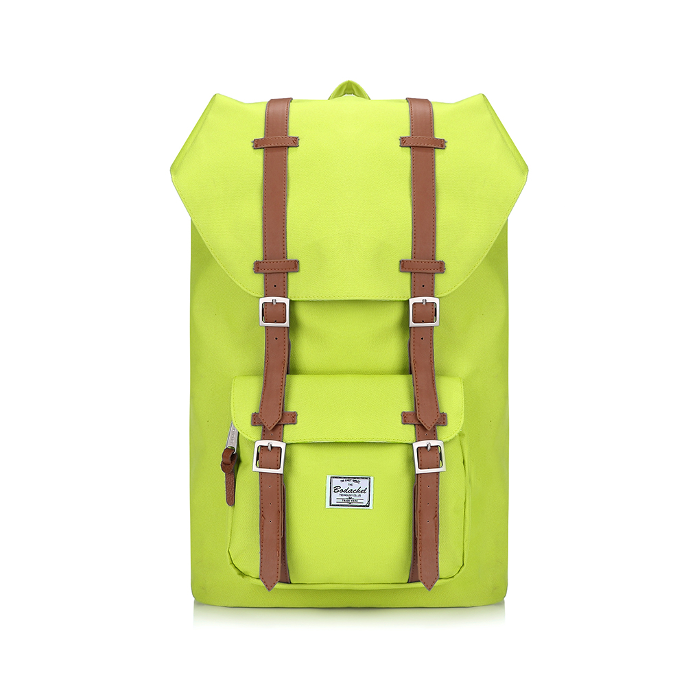 ce4cae4c32 Double shoulder strap backpack neon green oxford fabric herschel outdoor  large capacity backpack shiralee-in Backpacks from Luggage   Bags on  Aliexpress.com ...