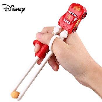 Disney children's chopsticks training chopsticks baby chopsticks practice chopsticks ice romance baby tableware correction learn фото