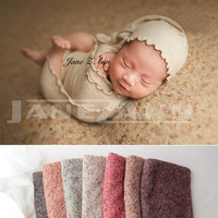 Jane Z Ann Newborn photography props infant multi color background cloth baby photography studio shooting accessories 170*150cm