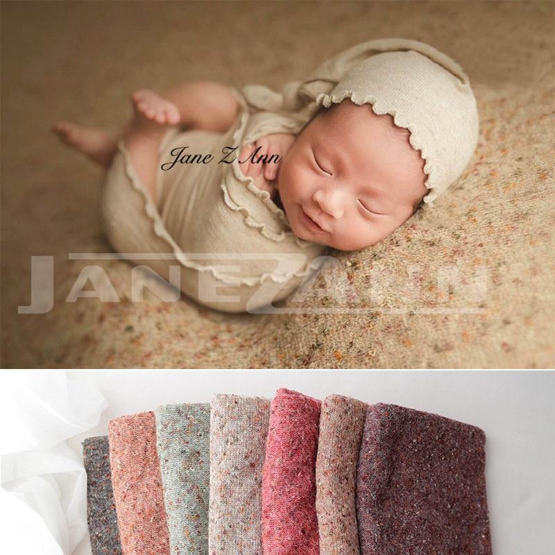 Jane Z Ann nouveau-né accessoires de photographie infantile multicolore fond tissu bébé photographie studio accessoires de tir 170*150 cm