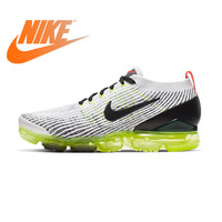 Original Authentic Nike AIR VAPORMAX FLYKNIT 3 Men's Running Shoes Sports Outdoor Shock Absorption Breathable AJ6900 100