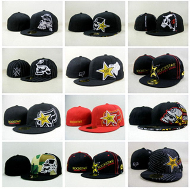 63ef0f04038 18 styles new 2015 hot Rockstar hats Mens and womens Hiphop cap baseball  caps Star Dolphin Fitted size Hat 7