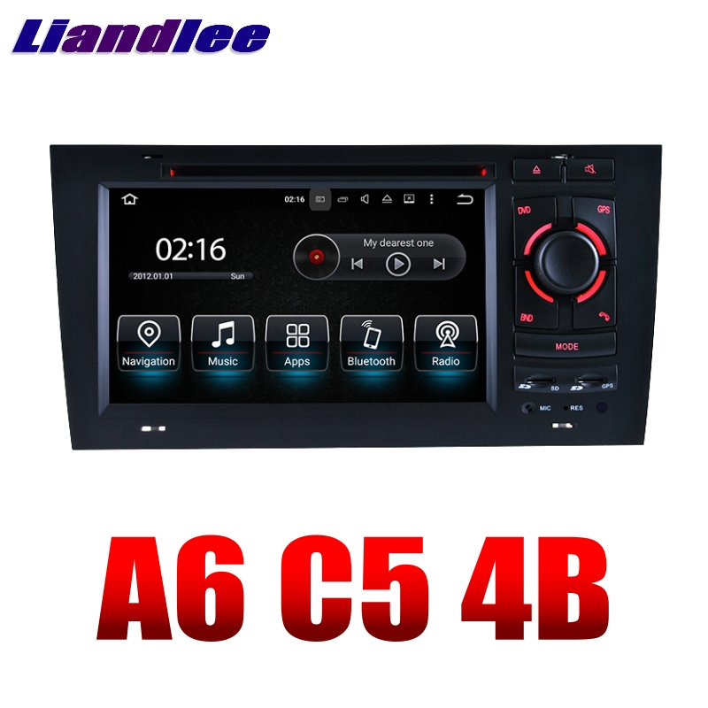 liandlee car multimedia player navi for audi a6 c5 4b 1997. Black Bedroom Furniture Sets. Home Design Ideas