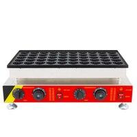 Kalp Şekilli Waffle Makinesi Mini elektrikli hollandalı poffertjes ızgara Makinesi waffle gözleme yapımcısı 50 delik|Waffle Makineleri|   -