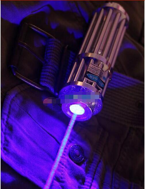 HOT! Super Powerful! 500000m 500w MW Blue Laser Pointers 450nm Flashlight Burning light cigars/black/Burn Cigarettes Hunting