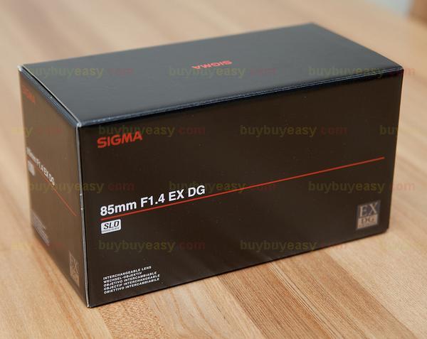 Genuine Sigma 85mm F1.4 EX DG HSM Standard Lens For Nikon