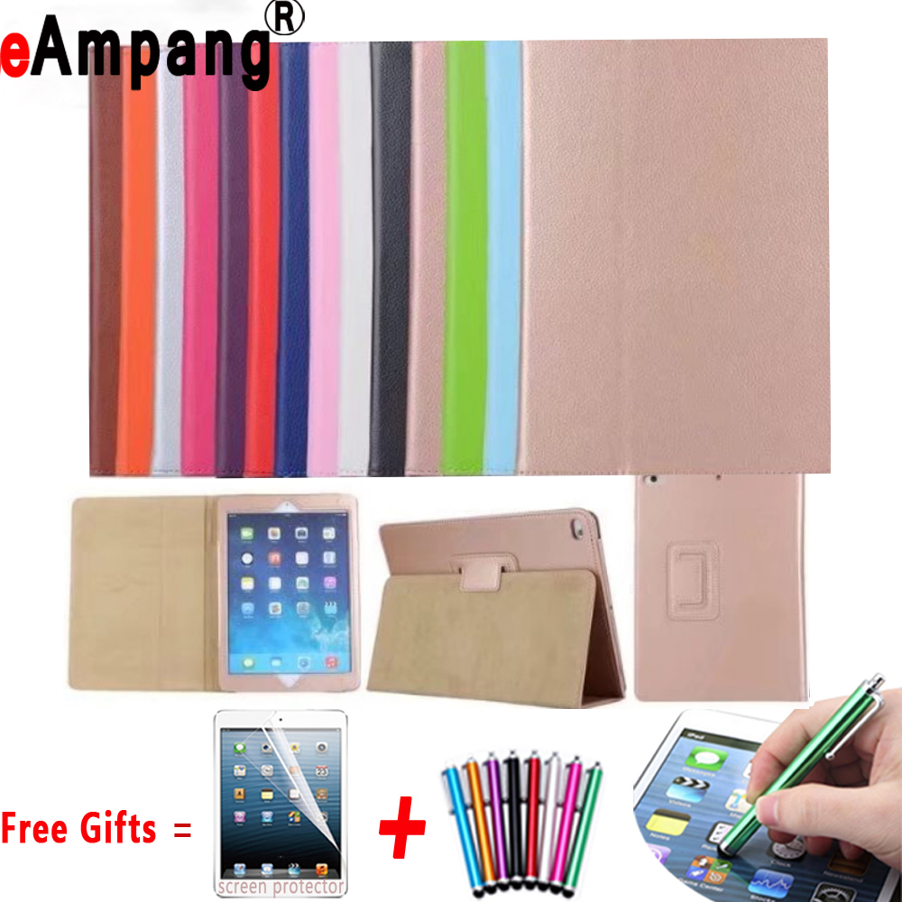 Magnetic Auto Wake Up Sleep Cover for iPad 2 Case Flip Litchi Leather Case for iPad 3 Ultra Protector Cover for iPad 4 Case 9.7 newest hard shell leather cover case for kobo aura h2o 6 8 inch ebook wake up and sleep screen protector stylus pen