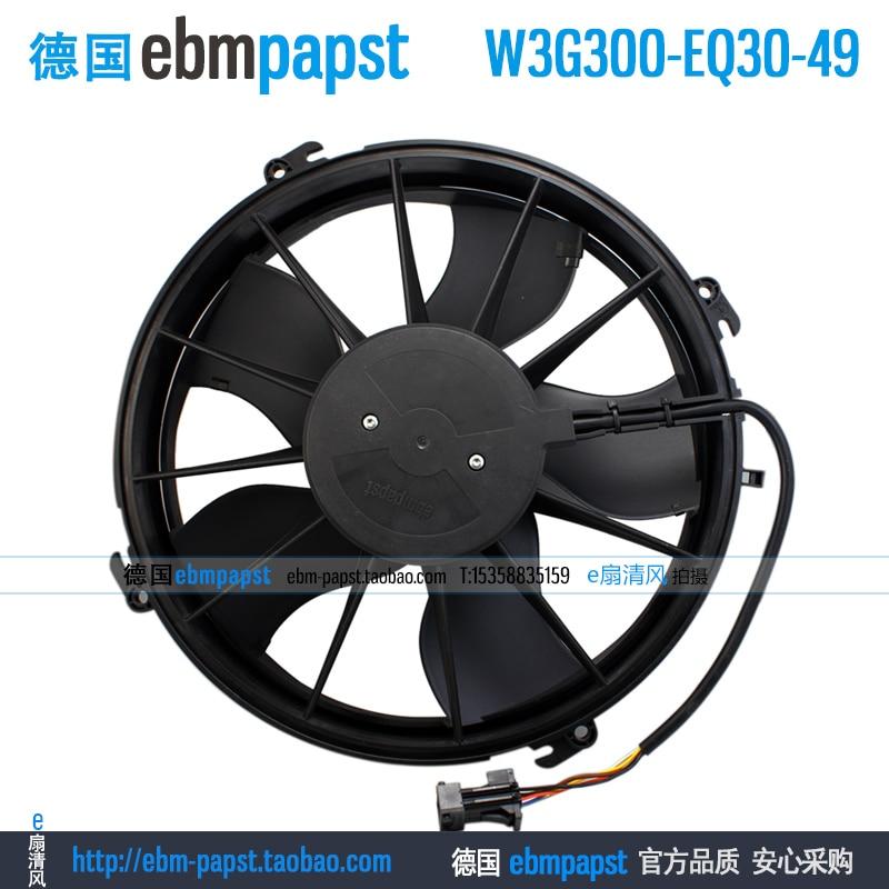 Original new ebm papst W3G300-EQ30-49 DC 26V 7A 180W 300x300mm Server Round fan new original ebm papst iq3608 01040a02 iq3608 01040 a02 ac 220v 240v 0 07a 7w 4w 172x172mm motor fan