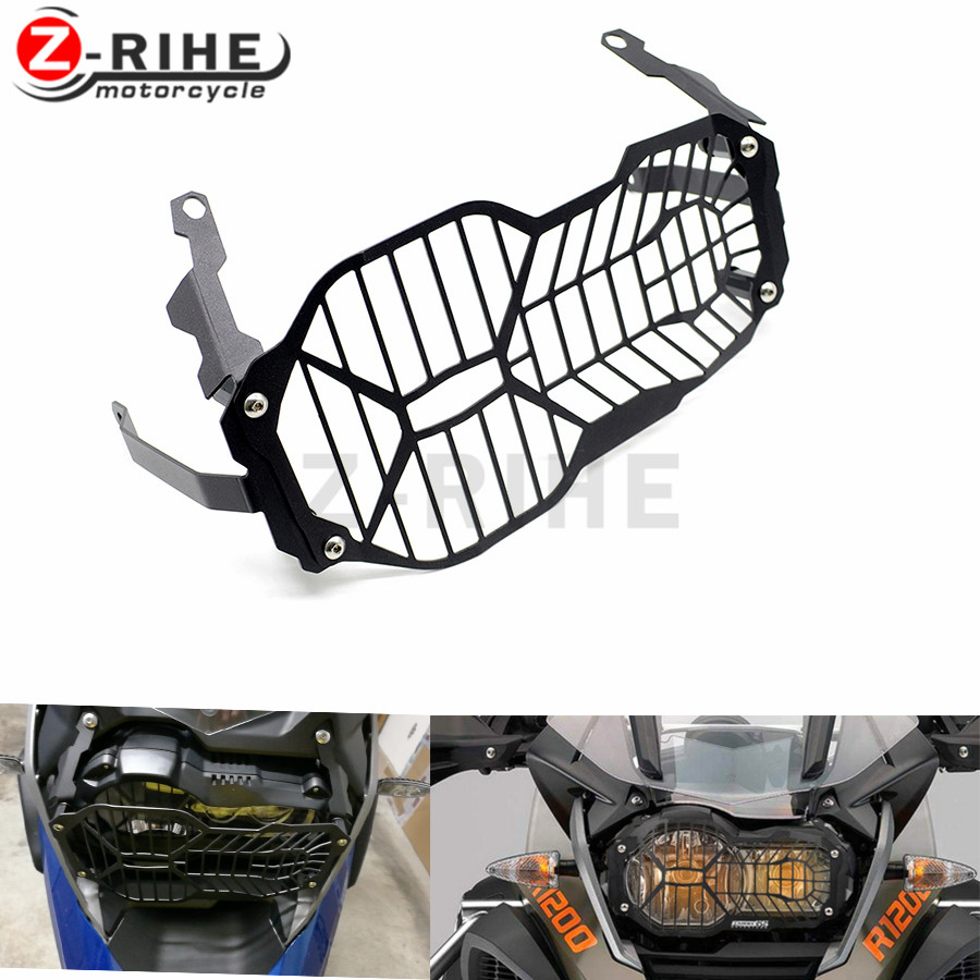 For BMW R1200GS Headlight Grille Guard Cover Protector For BMW R 1200 GS ADV Adventure R 1200GS (Water Cooled) 2012-2016 r1200gs motorcycle headlight grill guard cover protector for bmw r 1200 gs r1200gs adv adventure r 1200gs 2012 2016
