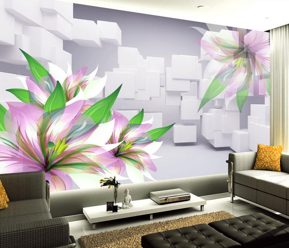 Wallpaper home murals wallpaper home for Mural 3d wallpaper