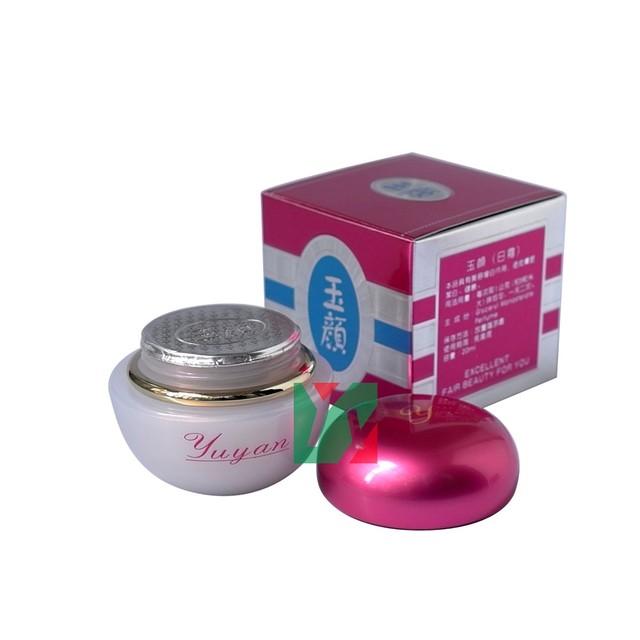 12 unids/lote yuyan belleza intensiva crema de día proporcionar profunda fibrina activa de protección solar eliminar punto negro pecas y blanquear