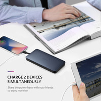 Ugreen Power Bank 10000mAh For iPhone X 7 Xiaomi External Battery Pack Powerbank For USB iPhone Cable Portable Charger Poverbank 2