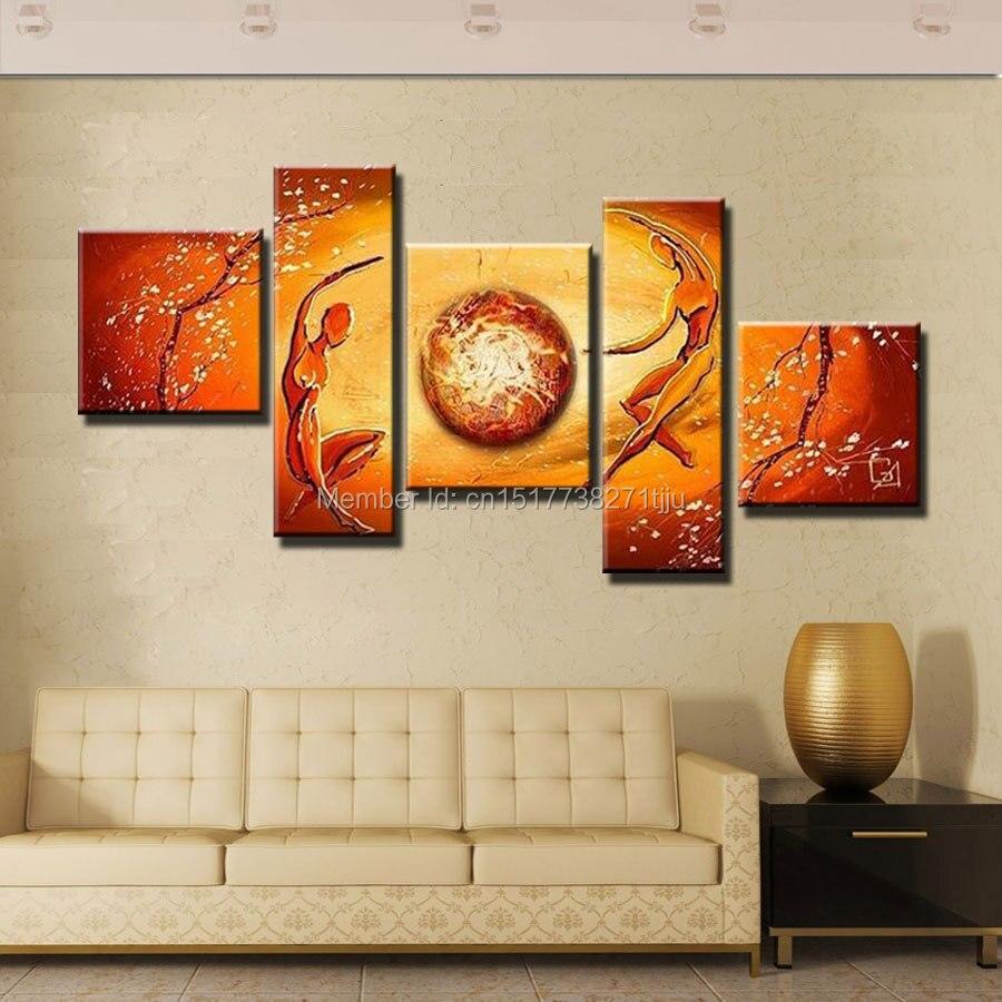 Қолмен жасалынған абстракциялы - Үйдің декоры - фото 3