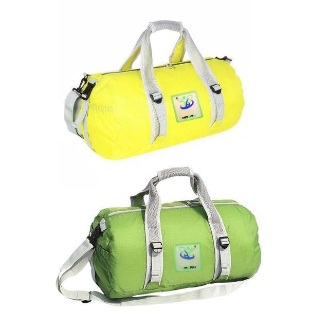 Portable Waterproof Sports Fitness Folding Large Capacity Baggage Bag Travel Handbag Outdoor Gym Shoulder Bag