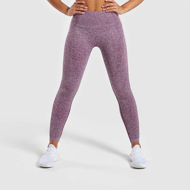 d3928cb1f53146 Women Gym Pants Sport Running Exercise Tights Workout High Waist Push Up  Yoga Pants Anti cellulite Vital Seamless Leggings