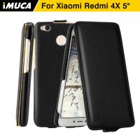 Xiaomi Redmi 4x Case IMUCA Xiaomi Redmi 4x Pro Prime Cover Flip Leather Case Coque Xiaomi