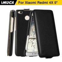 Xiaomi Redmi 4x Case IMUCA Xiaomi Redmi 4x Pro Prime Cover Flip Leather Case Coque Xiaomi