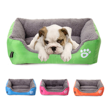 Warm Pet Bed Cushion for Small Dogs Home Sofa Kennel Cat Labrador Husky Satsuma French Bulldog Pet House Cama de Perros 2