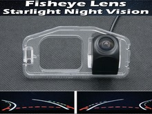 цена на Dynamic Trajectory Tracks 1080P Fisheye Lens Car Rear view Camera for HONDA Odyssey 2009-2013 Car BackUp Reverse Camer