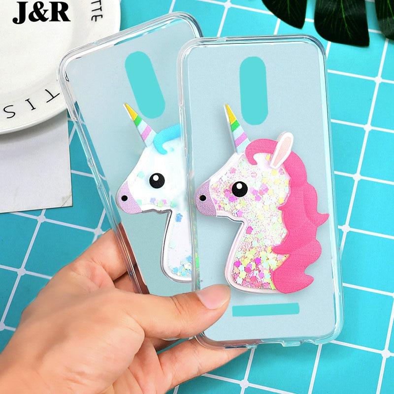 M8 Pro Phone Back Case 3d Diamond Chain Unicorn Owl Quicksand Liquid Bowknot Fur Ball Cellphones & Telecommunications Soft Silicon Case Cover For Leagoo M8