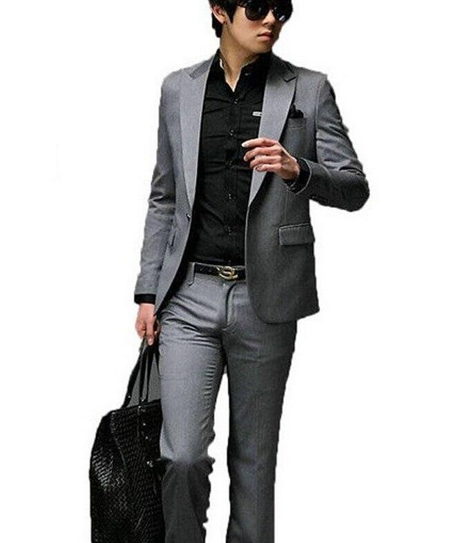 Aliexpress.com : Buy Man's new fashion dress a button slimming ...
