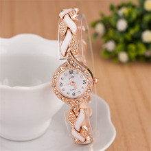 Fashion Diamond Female Quartz Wristwatches female form with slim ladies free shipping estetic form phyto slim