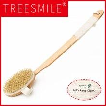 цена на New Arrival,health care Long handle shower bath brush scrub skin body massager bathroom product,Free shipping