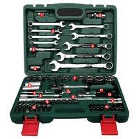 Набор инструментов для ремонта автомобиля, 82 шт., набор инструментов, динамометрические ключи, трещотка, гаечный ключ, набор инструментов