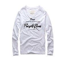 Художник принц Роджерс Нельсон футболки Super Star Мужчины, хлопок Письмо печати хип-хоп Street Wear мужчин топы