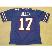 f332c125a62 Mens Josh Allen Stitched Name Number Throwback Football Jerseys  UNSIGNED  NO LOGOS OR EMBLEMS