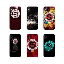 Accessories Phone Cases Covers ashion SPARTA PRAHA football For Samsung Galaxy A5 A6S A7 A8 A9S Star J4 J6 J7 J8 Prime Plus 2018(China)