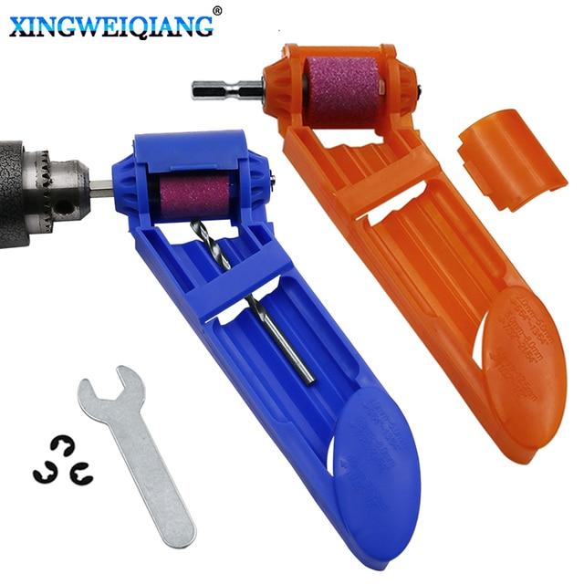 1 set corindón de rueda afilador de brocas de taladro portátil poco alimentado piezas de herramientas