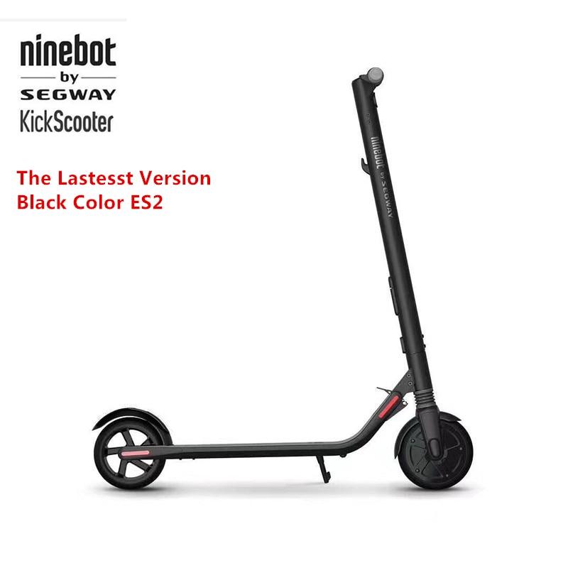 D'origine Ninebot KickScooter ES2 Smart Scooter Électrique pliable léger longue planche planche à roulettes hoverboard 25 km avec APP