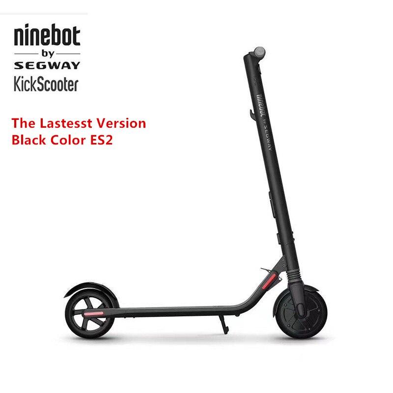 Ninebot originais KickScooter ES2 Inteligente Scooter Elétrico dobrável leve long board skate hoverboard 25 km com APP