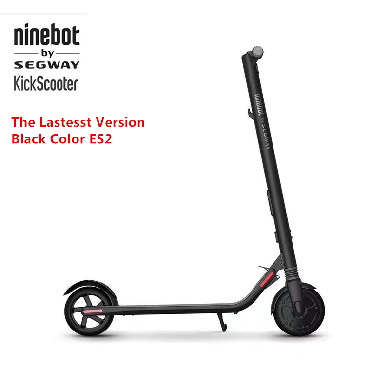 Original Ninebot KickScooter ES2 Smart Electric Scooter foldable lightweight long board hoverboard skateboard 25KM with APP цена