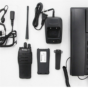Image 5 - F 3S New Mini Interphone Safety Waterproof 5W Power Supply Security Portable Radio Self driving Travel Office Hotel Interphone