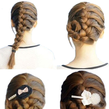 Hot Convenient Hair Braiding Braider Tool Roller With Magic hair Twist Styling Bun Maker   67UI