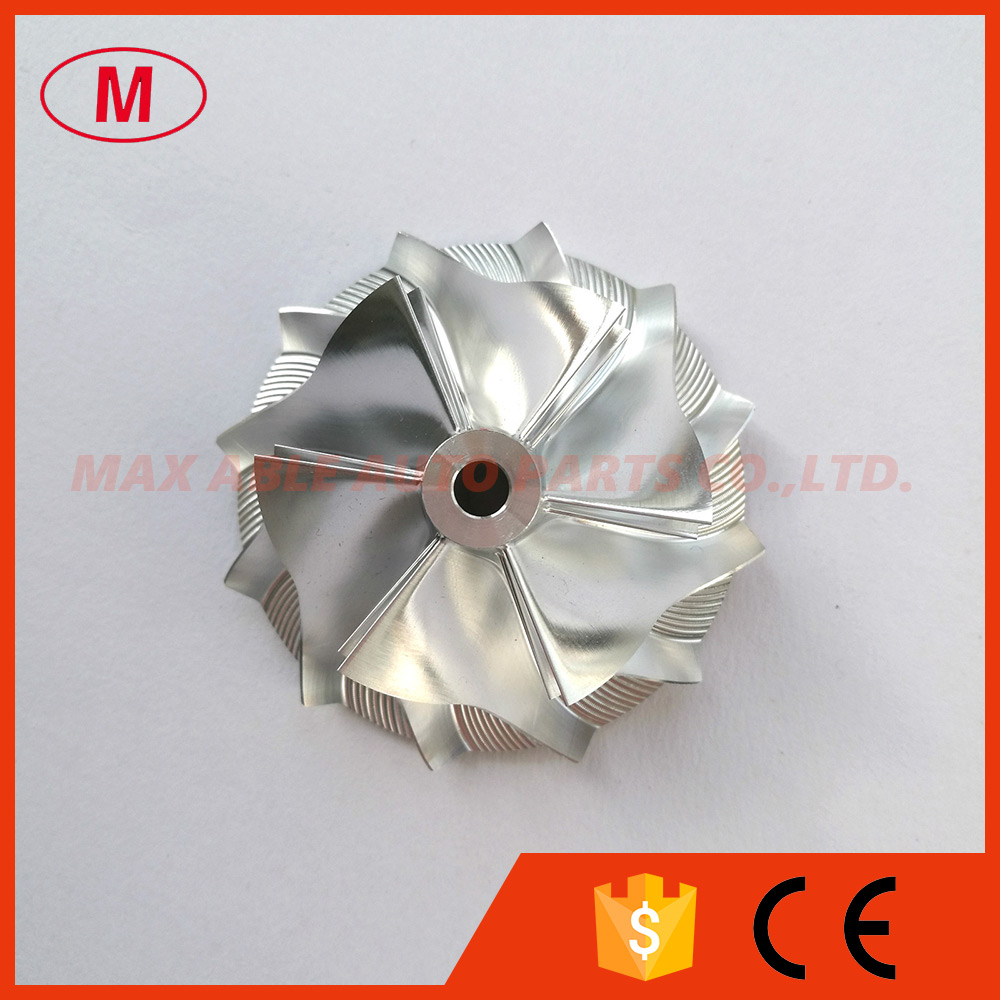 TD04HL Turbocharger Aluminum 2024 Milling Turbo Billet Compressor wheel 42 00 56 02mm 6 6 blades