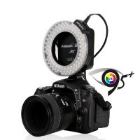 Aputure HN100 Amaran Halo LED Ring Light for Nikon (Black) DSLR Camera