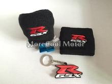 Для Suzuki GSX-R 3D Логотип Водохранилище Носки Мотоциклов Тормозная Жидкость Водохранилище Сцепления Танк Рукава НОВЫЙ