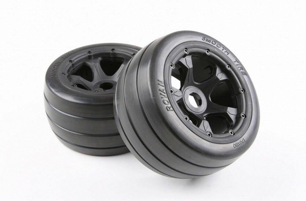Бесплатная доставка, 2 шт., задние шины Baja 5B для дорог, задние шины для 1/5 hpi km baja 5b, запасные части 95094