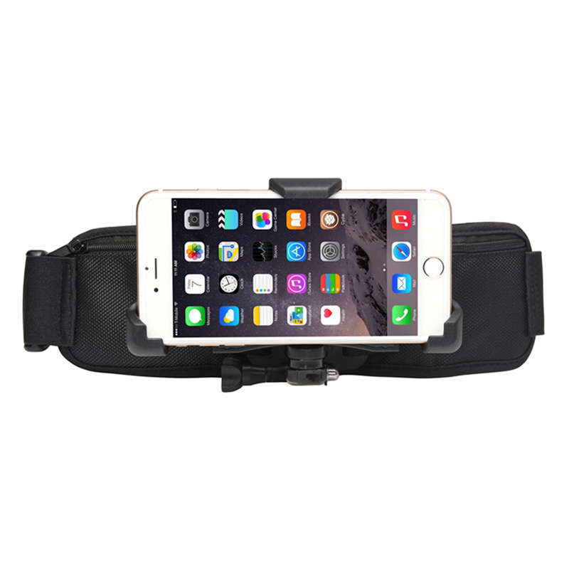 CHOETECH Chest Head Belt Mount for iPhone 7 6Plus Adjustable Cell Phone Holder for GoPro Hero5 Sports Action Camera Accessories
