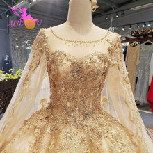 AIJINGYU Style Wedding Dress Guangzhou Winter Ball Train